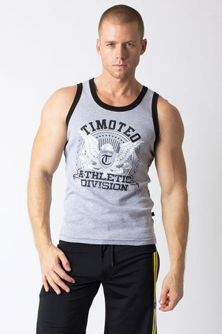 Timoteo Grey Eagle Tank Top