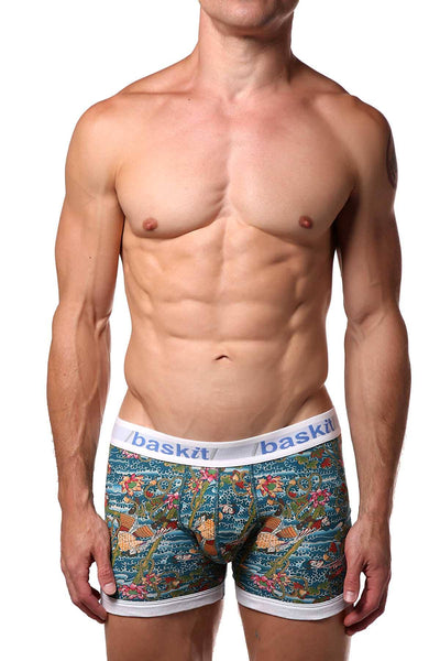 Baskit Cyan Body Art Boxer Brief - CheapUndies.com