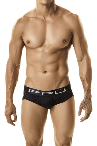 PPU Black Briefer Jockstrap