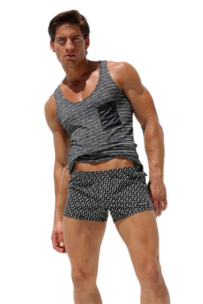 Rufskin Black & White Damek Boxers