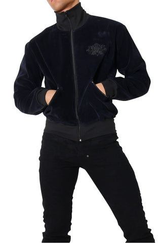 Rufskin Midnight Blue Kash Velvet Jacket