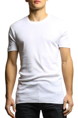 2(X)IST White Cotton Crew-Neck