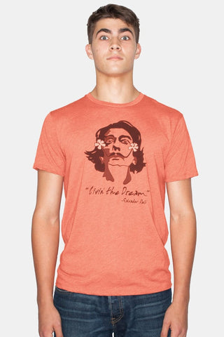 Headline Orange Dali Graphic Tee