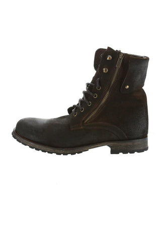 GBX Brown Trammel Lace-Up Boot