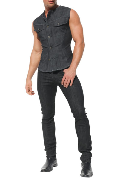 Rufskin Jameson Denim Vest
