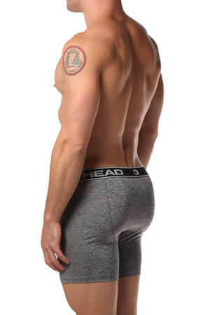 Head Light Grey Marl Boxer Brief