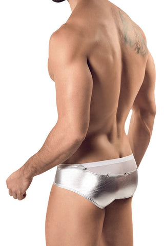 Pikante Silver Go Go Brief