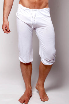 Y.M.L.A. White Pilates Short