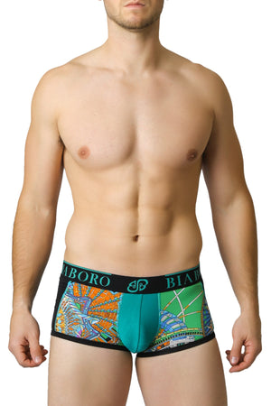 Black & Green Bamboo Trunk