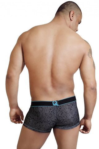 BodyQ Blue John Short Boxer