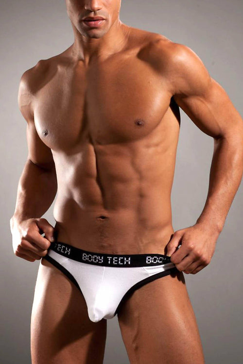 Body Tech White Maximizer Thong - CheapUndies.com