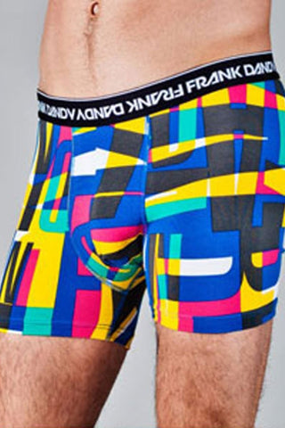 Frank Dandy Blue Positive Blocks Boxer