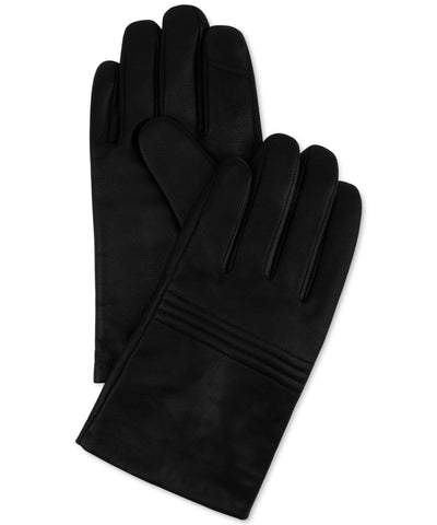 Calvin Klein Quilted Leather Knuckle Gloves Large - CheapUndies.com