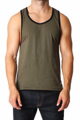 Timoteo Army Green & Black Freedom Tank