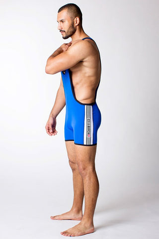 Timoteo Blue Cell Block Singlet
