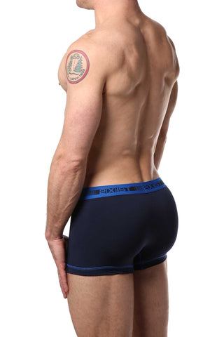 2(X)IST Flame & Navy Performance Cotton Trunk 2-Pack