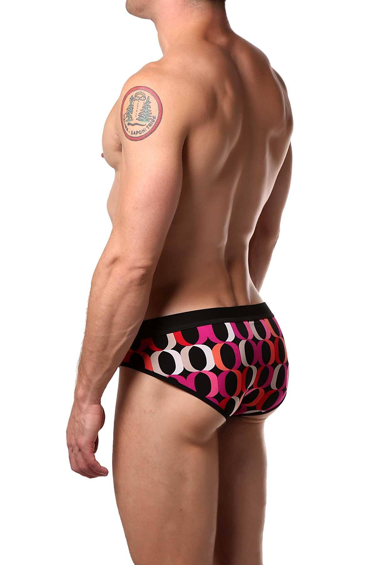 JustinCase Pink/Orange O Brief