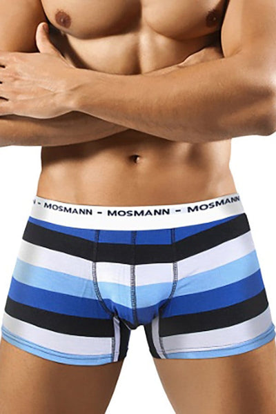 Mosmann Blue Striped Eco Boxer Brief