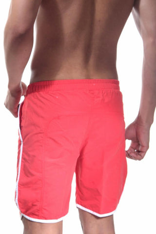 BWET Red Atelier Swim Short
