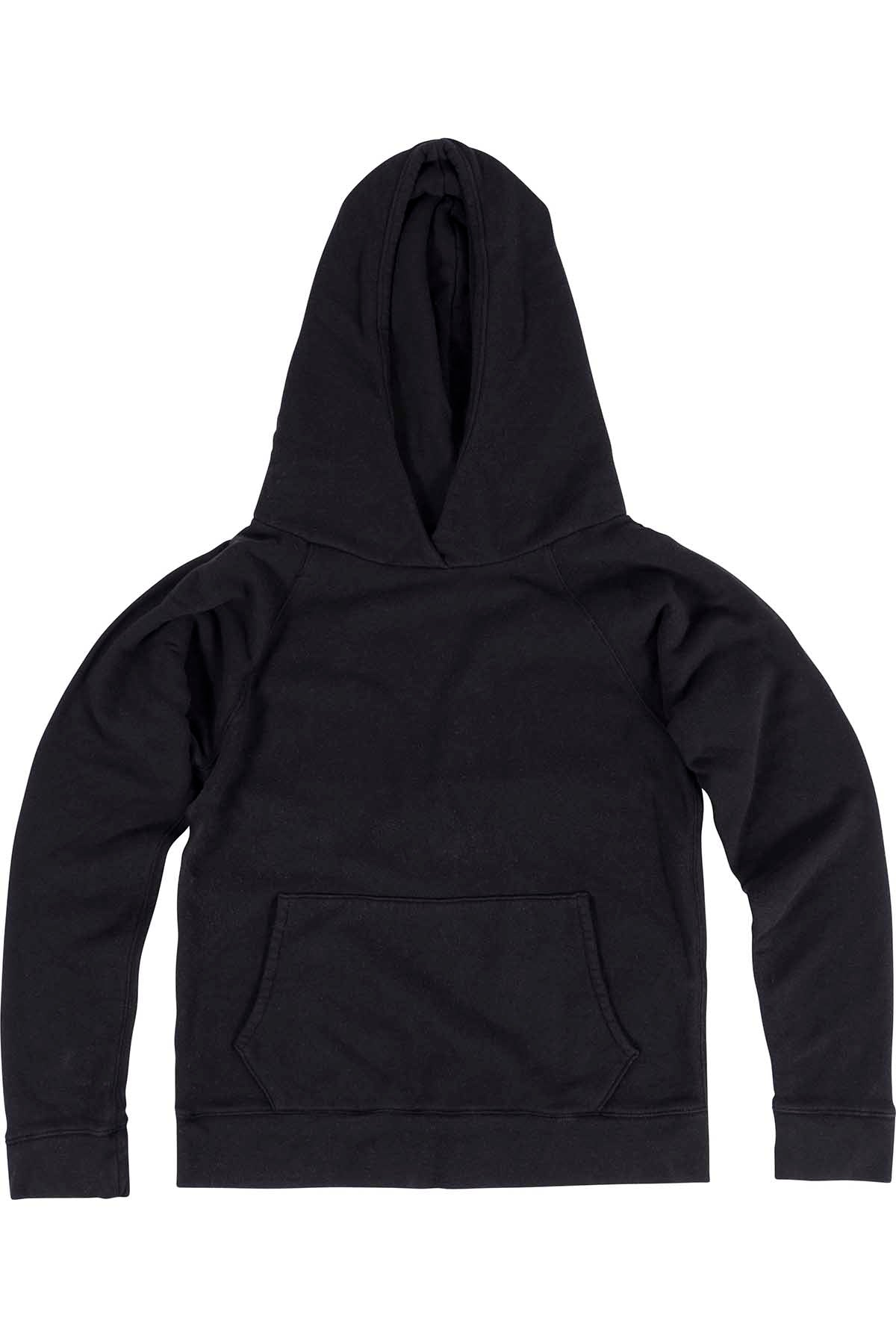 Rxmance Unisex Black Hooded Sweatshirt