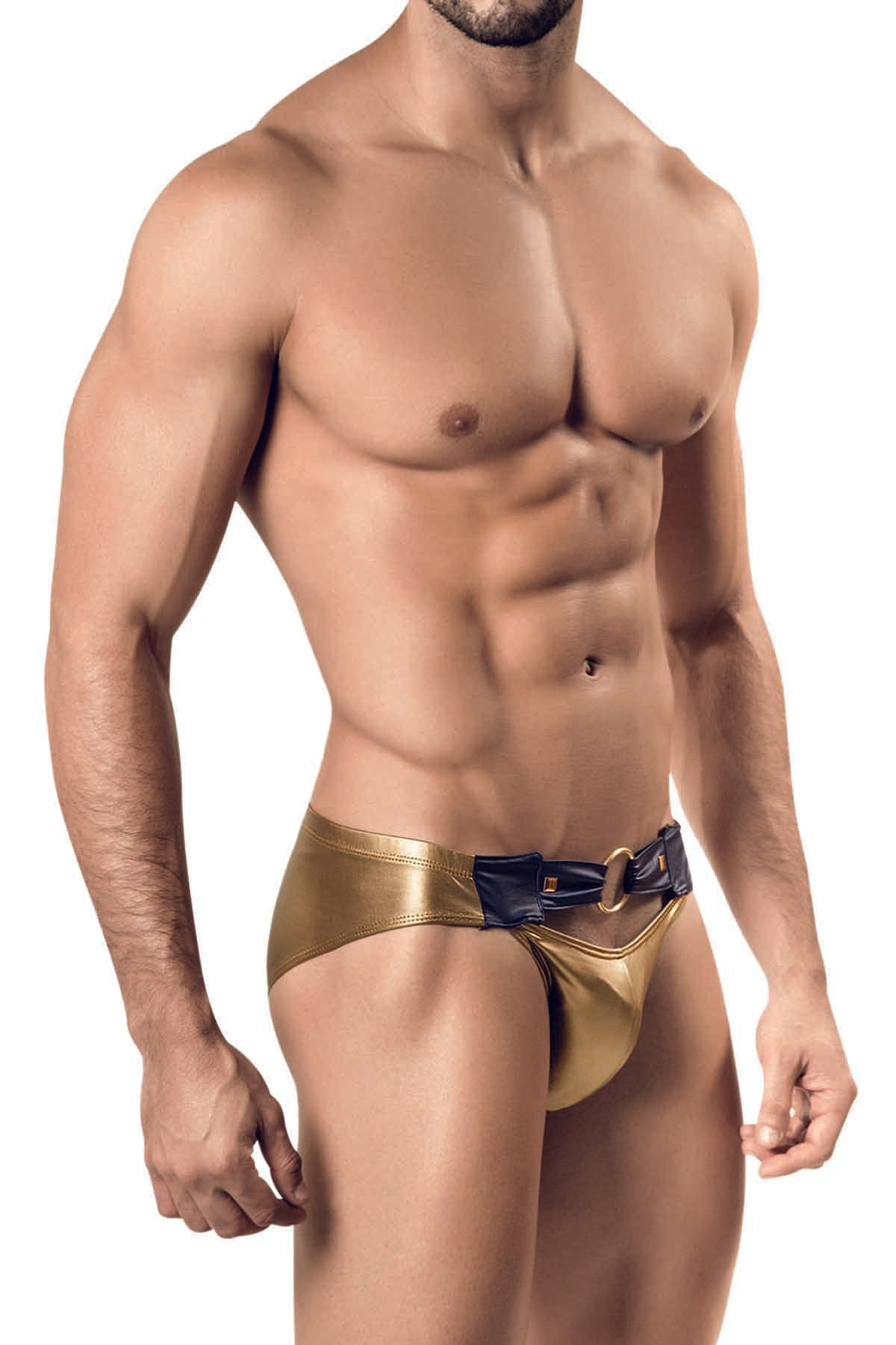 Pikante Gold Bling Brief