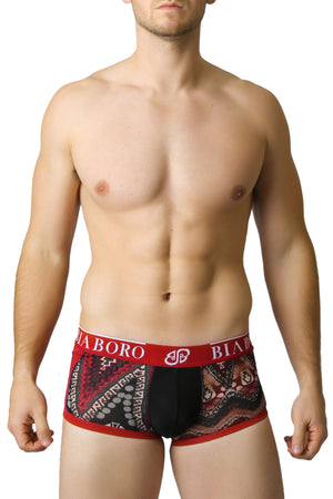 Red & Black Bamboo Trunk