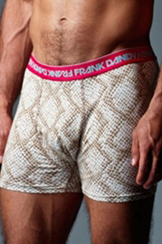 Frank Dandy Brown Snake Skin Boxer