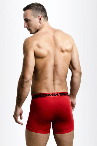 Red Iconic Metallic Boxer Brief