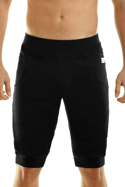 Black Groom Sweat Shorts