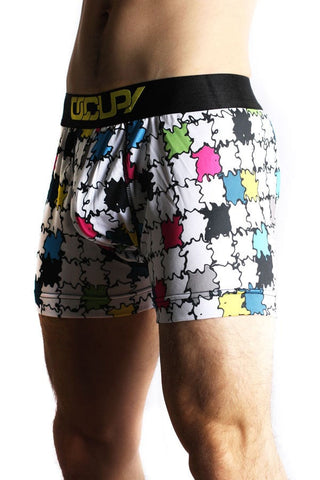 Occupy White Puzzle Boxer Brief