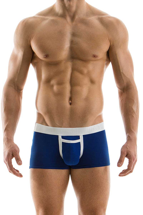Modus Vivendi Blue Open Pocket Boxer - CheapUndies.com