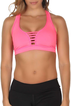 365me Pink Sports Top