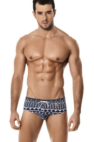 Clever Blue Palinka Swim Brief