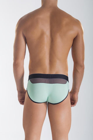 Mandies Green Mechanical Bull Brief
