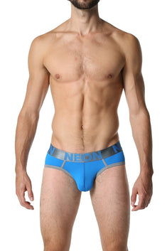 CheapUndies Neon Blue Brief