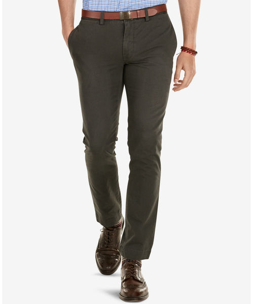 Polo Ralph Lauren Men's Slim-Fit Chino Pants Black - CheapUndies.com