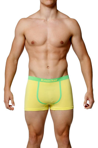 Knocker Yellow Contrast Piping Seamless Trunk