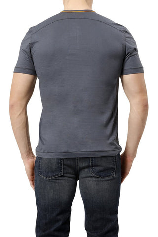 C-IN2 Ombre Pop Short Sleeve Henley