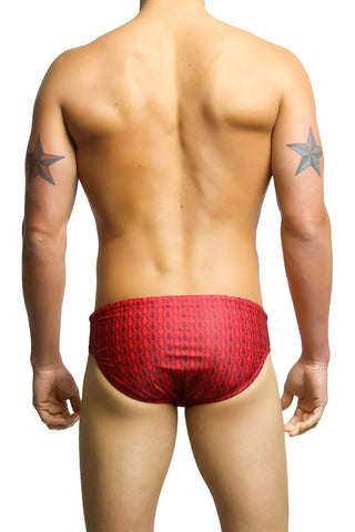 Radical Element Red Grenade Gary Swim Brief