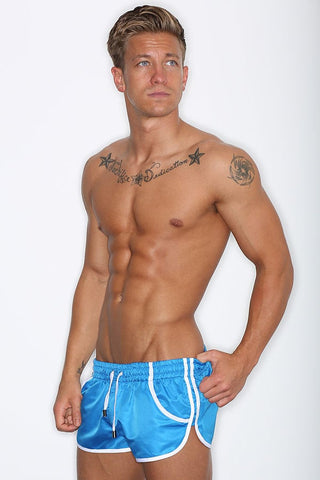 CheapUndies Blue Running Shorts