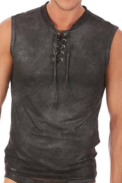 Gregg Homme Black Cowboy Muscle Shirt
