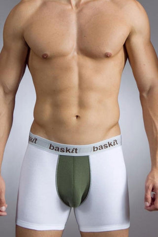 Baskit Bronze Green Action Cool Boxer Brief