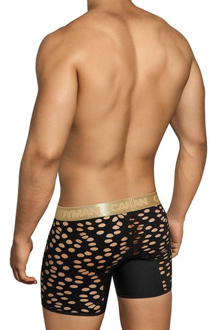 Candyman Black Laser Cut Boxer Brief