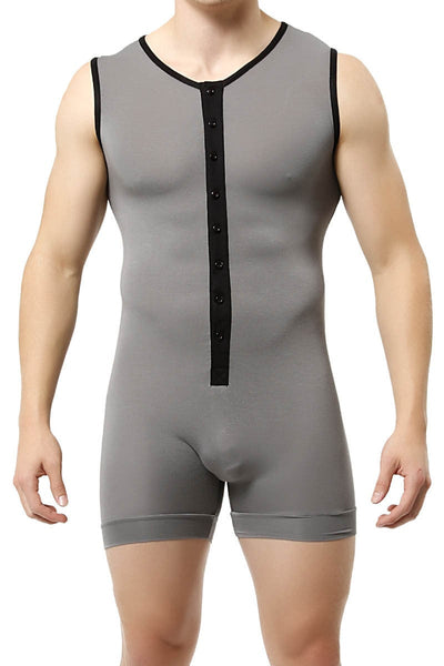Trend Charcoal Lounge Singlet