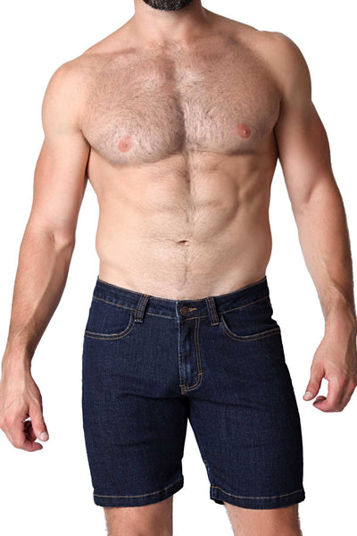 CellBlock 13 Indigo Castro Denim Short - CheapUndies.com