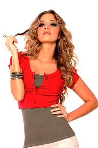 Fiory Red Matilde Top
