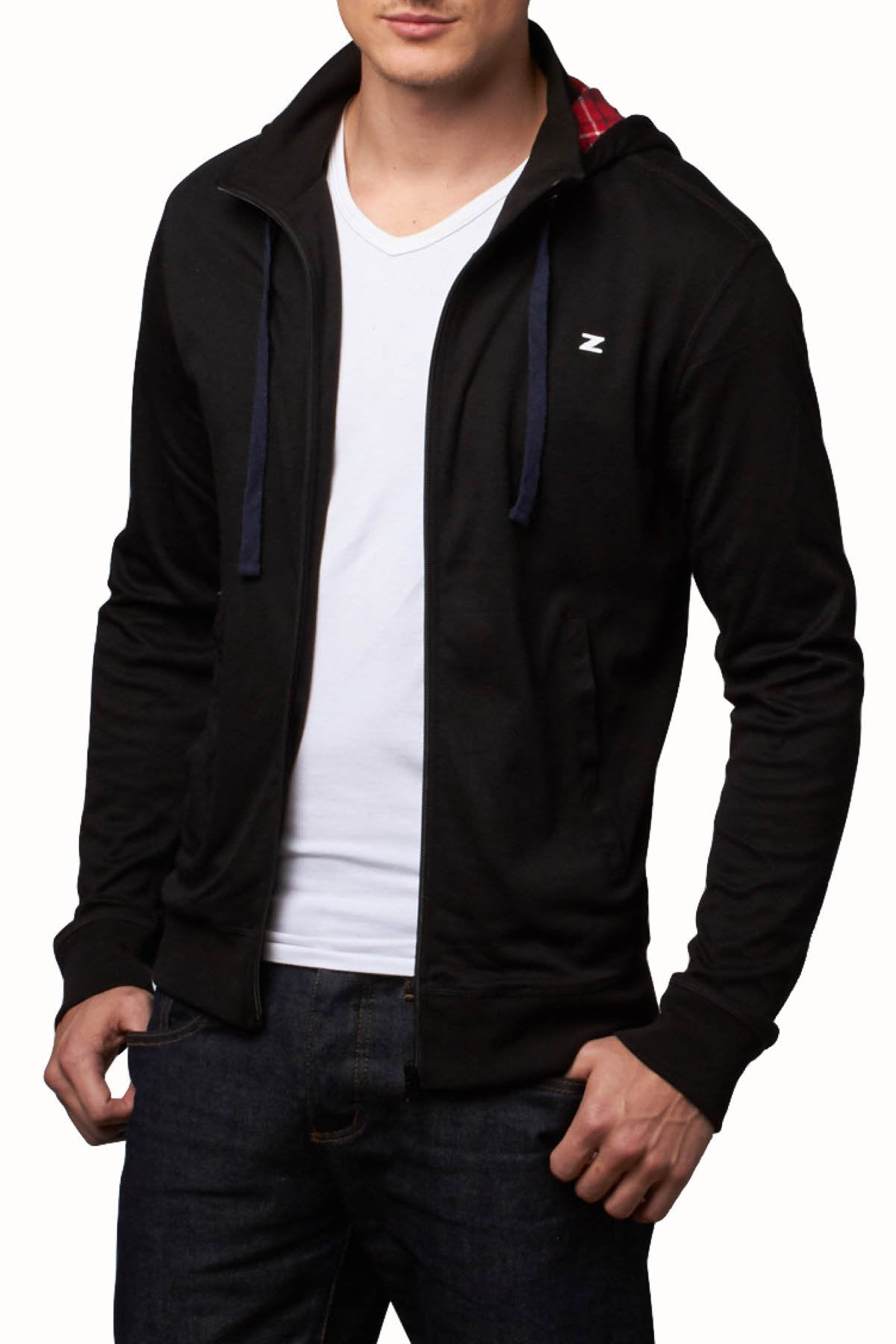 Zutoq Zardaine Black Zipper Jacket