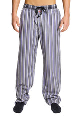 English Laundry Grey Stripe Drawsting Pants