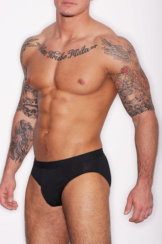Hanro Black Micro Touch Brief