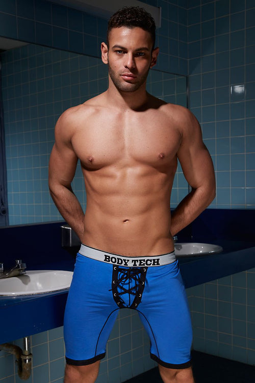Body Tech Blue Team Boxer - CheapUndies.com